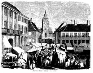 Aarhus Sct. Olai Marked (1868)