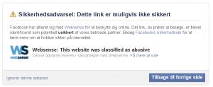 """Min webside er """"abusive"""" og """"skadelig""""."""