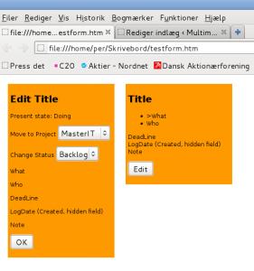 Skitse HTML