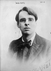W.B. Yeats (source: Wikipedia)