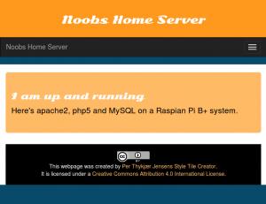 Noobs Server