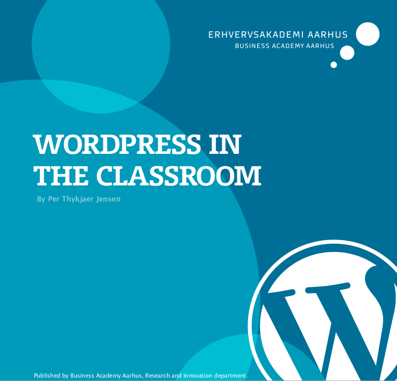 Click an read WordPress in the Classroom.